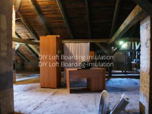 DIY Loft Boarding-Insulation