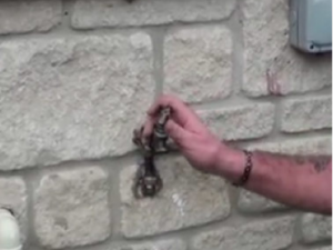 FIT AN OUTSIDE TAP