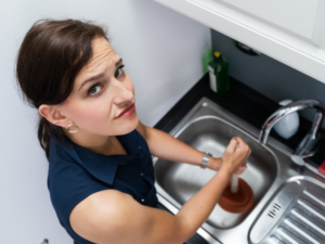 How to unblock kitchen sink